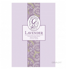 Greenleaf & Bridgwater LAVENDER  Large Scented Envelope Sachet
